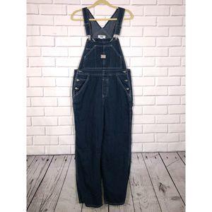 OLD NAVY Overalls Carpenter Blue Jeans Denim Sz M
